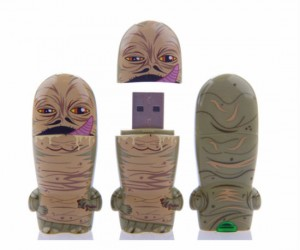 Star Wars Jabba The Hut USB – Jabba the Hut must have really slimmed down in order to fit on this tiny flash drive.