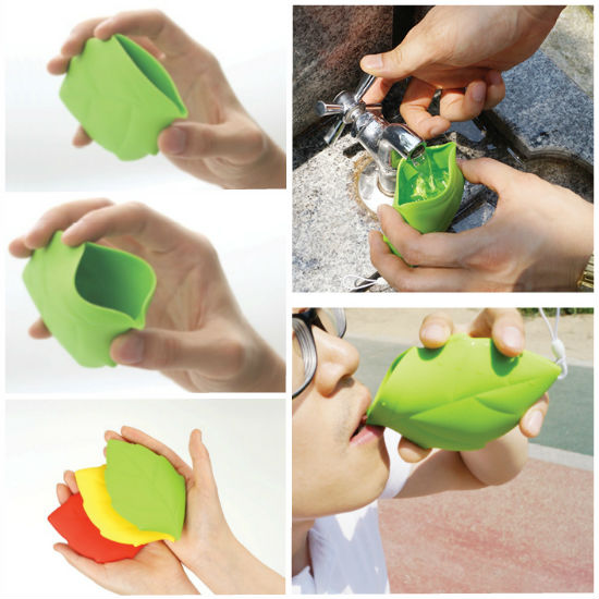 Leaf pocket cup