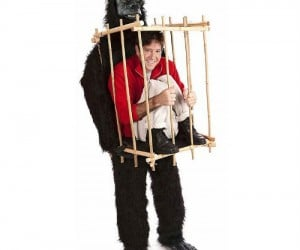 "People will go ape-s*** when they see you in this ""WTF"" inducing costume"