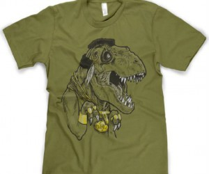 Mr. T-Rex Shirt – I pity the omnivore who doesn't buy this shirt.