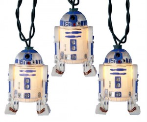 Star Wars R2D2 Christmas Lights – Deck the hall with Droids so jolly, fa la la la la!