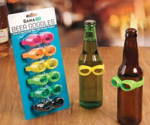 These beer goggles will make any drink look good… no guarantees for your date though.