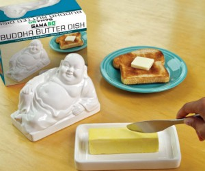 Buddha Butter Dish – Who better to watch over your butter than Buddha himself!
