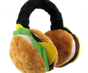 What better way to keep your ears warm than with some hot delicious cheeseburgers!