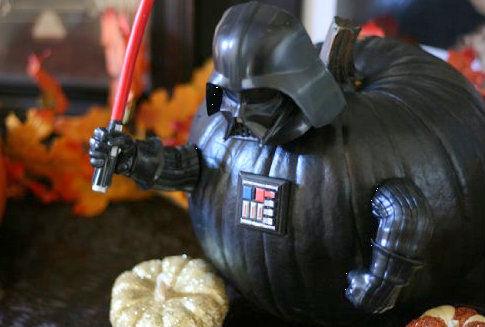 darth vader pumpkin push in