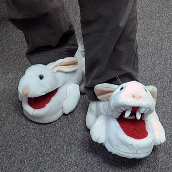 killer bunny slippers