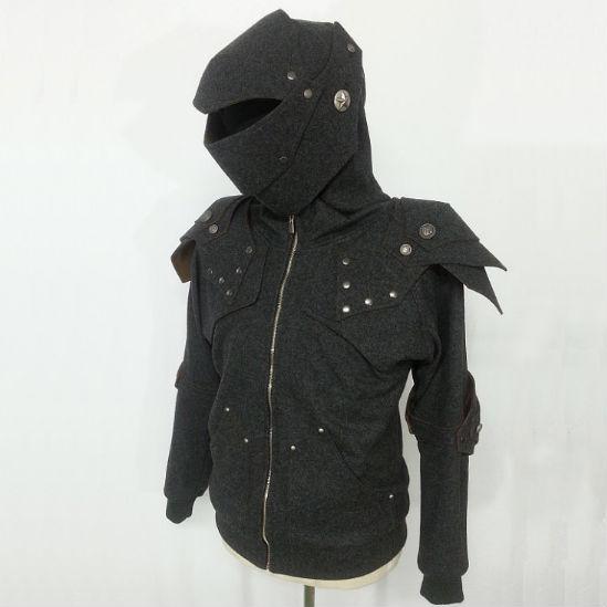 Knight armor hoodie