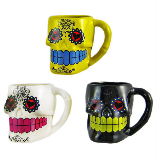 Day Of The Dead Mug Set Shut Up And Take My Money