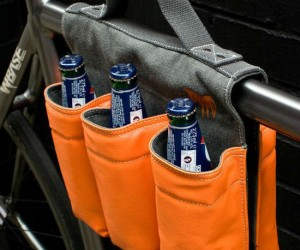 6 Pack Bike Bag – The easiest way to carry a 6 pack safely home on your bike, just don't drink and bike!