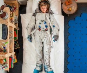 Astronaut Bedding –  Always dreamt of being an astronaut? Well, keep dreaming…