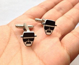 Breaking Bad Heisenberg Cuff Links – The classiest way to say you are the one who knocks.