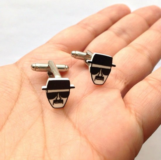 heisenberg cuff links