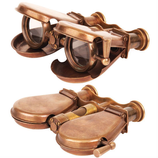 Folding Steampunk Binoculars Shut Up And Take My Money