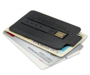 A phone charger so thin it fits in your wallet!