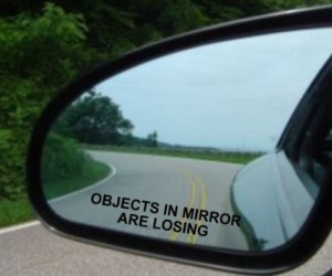 Objects In Mirror Are Losing Decal – Not that you're engaged in a street race but…