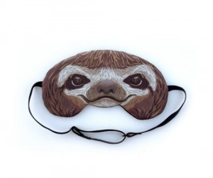 Sloth Sleeping Mask – Literally the laziest thing ever
