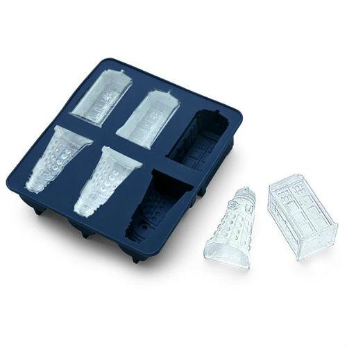 tardis ice cube tray