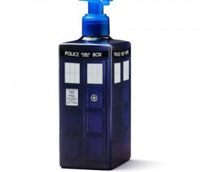 Doctor Who TARDIS Soap Dispenser – You might not get as clean as a Doctor but you'll smell just as nice.