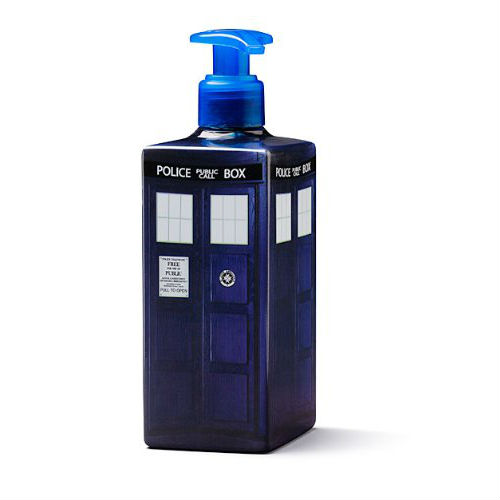 dr who tardis soap dispenser