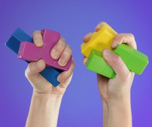 Tetris Stress Blocks – A stress ball doesn't have to be round to relieve stress.