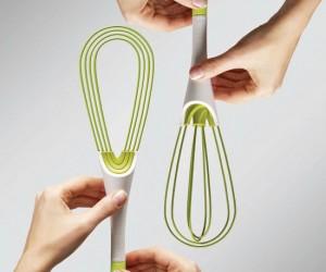 Twist Whisk – It's like having two kitchen utensils in one!