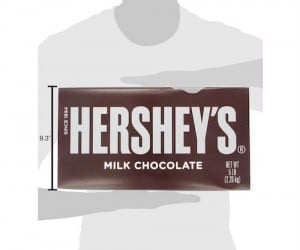 World's Largest Hershey's Bar – It's bigger than a baby!