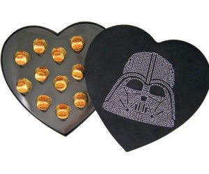 Maybe it's a little early for Valentine's Day, but how could you say no to Star Wars and chocolate?