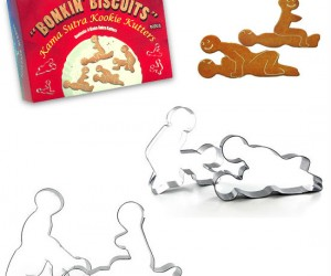 Kama Sutra Cookie Cutters – These gingerbread cookies are a little naughty this year.