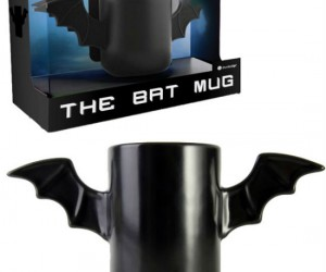The Bat Mug –This is the mug that every kitchen NEEDS, but not the mug that every kitchen DESERVES.