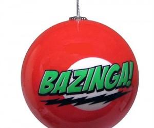 The Big Bang Theory Bazinga Ornament – Celebrate the holidays like only Sheldon Cooper can. Bazinga!