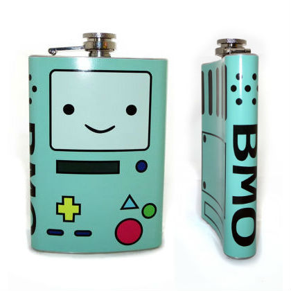 adventure time bmo flask