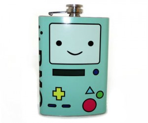 Adventure Time BMO Flask – Say hello to your new electronic drinking buddy!