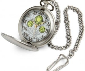 Doctor Who Diecast Pocket Watch – Keep wibbly wobbly timey wimey just like The Doctor