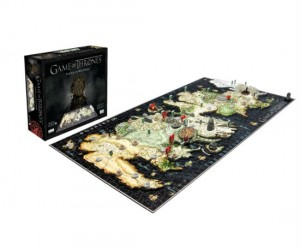 Game Of Thrones 3D Map – Build you own map of Westeros!