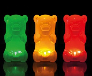 Gummy Bear Night Light – It's a night light not food.