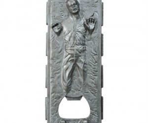 Star Wars Han In Carbonite Bottle Opener – He may be suspended in carbonite but at least he can still open your beer.