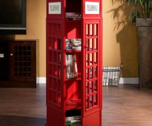 Red Phone Booth Cabinet – It's like having a little piece of London in your living room.