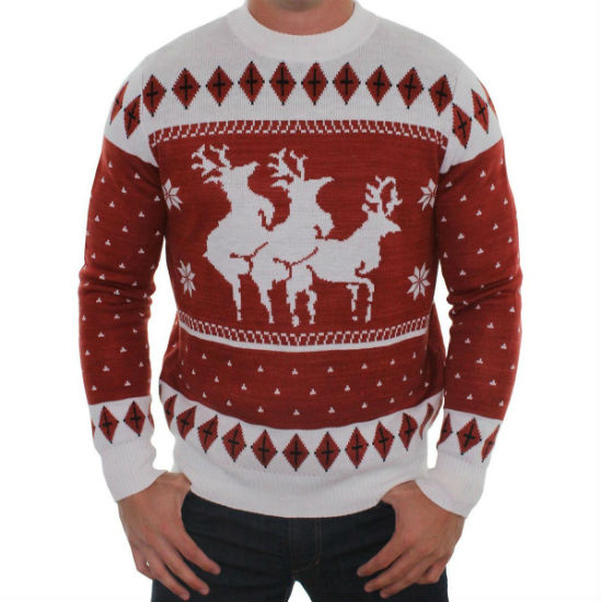 Pokemon Christmas Sweater.Reindeer Menage A Trois Ugly Sweater Shut Up And Take My Money