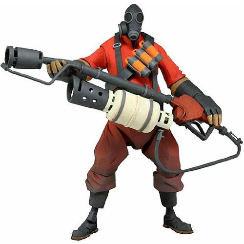 team fortress 2 pyro action figure