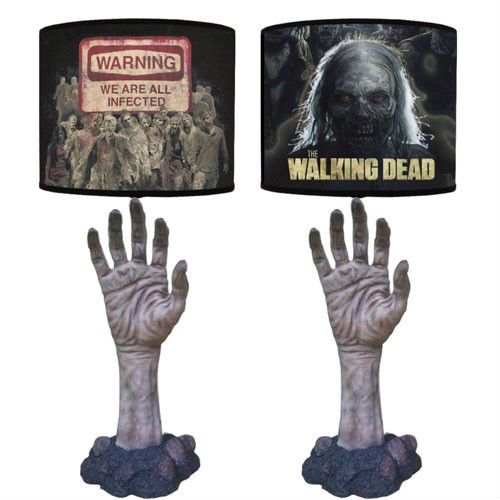 the walking dead zombie lamp
