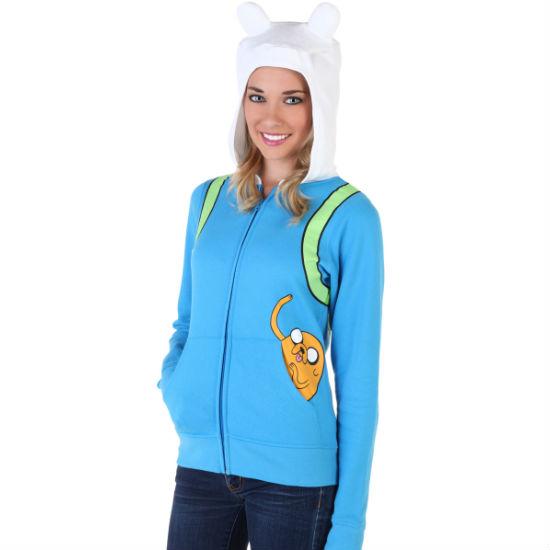 women's finn the human hoodie
