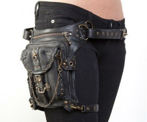 Blaster Bag – Looks like something Lara Croft would wear.