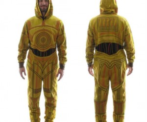Star Wars C3PO Onesie – He's a man on the streets but a droid in the sheets.