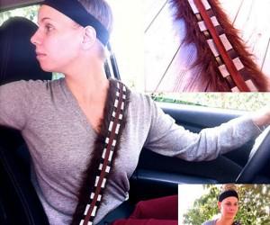Star Wars Chewbacca Seatbelt Cover – Safety first! Grrrwaaaaaarggggh!