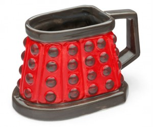 Doctor Who Dalek Mug – Only for the most dalek-table of beverages