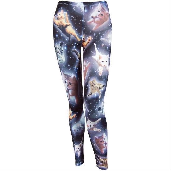 galaxy cats leggings