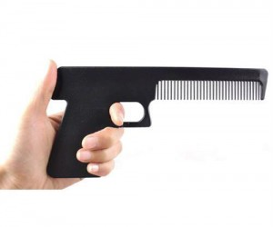 Gun Comb – Just try not to use it in public for obvious reasons.