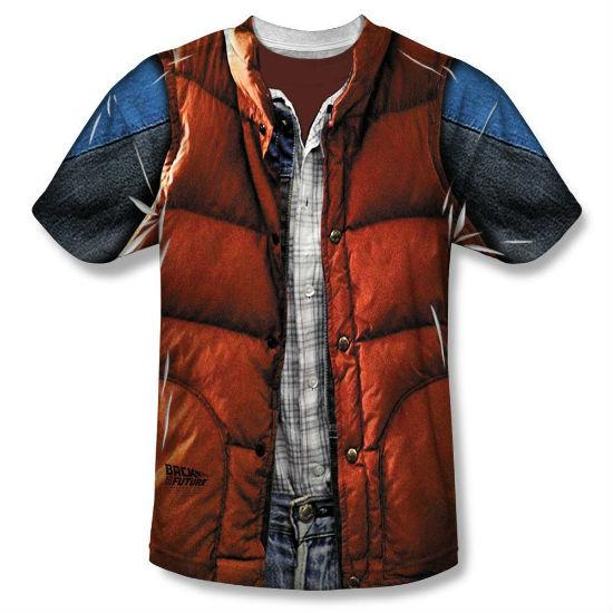 marty mcfly vest shirt