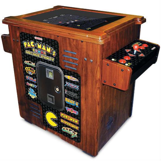 pac man arcade table