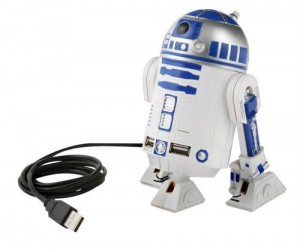 Star Wars R2D2 USB Hub – What good is a droid if you can't plug 4 USB drives in it at the same time?